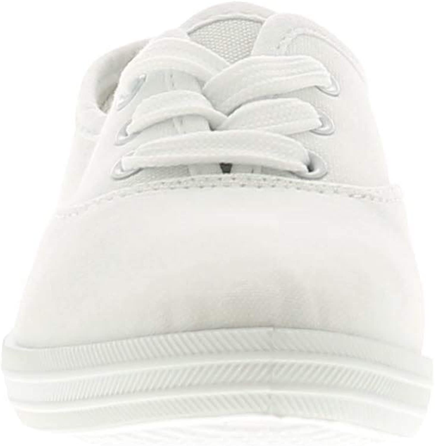 Wynsors Lace Up Girls Kids Canvas Shoes Pumps Trainers White UK Size