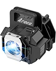 Araca ELPLP49 /V13H010L49 Replacement Projector Lamp with Housing for Epson PowerLite HC 8350 8700UB 8500UB H373A H336A 7500UB 8345 6500UB 9500UB 9700UB Projector