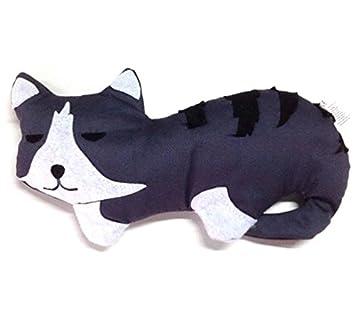 Wärmekissen Katze mit Lavendelduft für Mikrowelle