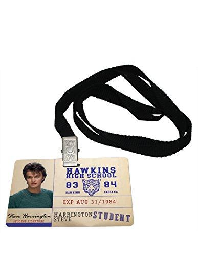 (Steve Harrington Student ID Stranger Things Novelty Badge Prop)