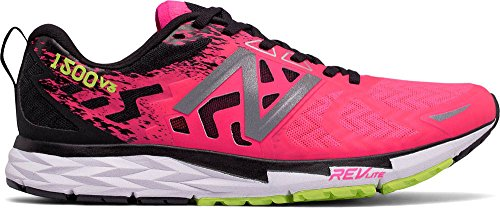 New Balance Women's W1500V3 Running Shoe, Alpha Pink/Black, 7 B - Is 6pm Com Reliable