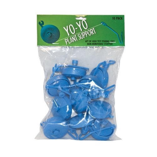Hydroponic Yoyo Plant Supports Packs of 10