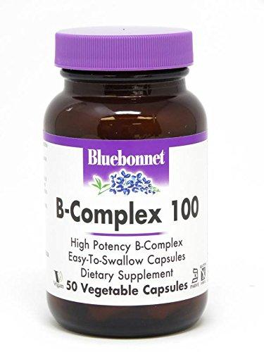 Bluebonnet. B-complex 100 - 50 Ct. 2 Pack