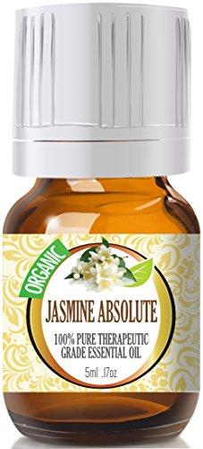 Жасмин Абсолют (Organic) 100% Pure, лучших лечебно-Grade Эфирные масла - 5 мл