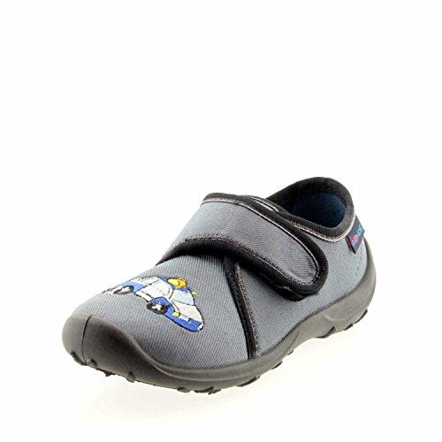 Rohde Boogy - Zapatillas de estar por casa Niños Dunkel-Grau