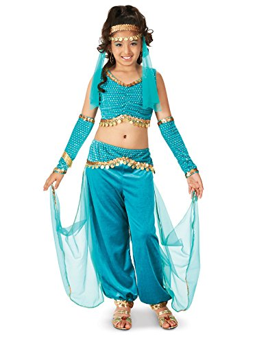 Costume For Kids Genie (Genie Child Costume)