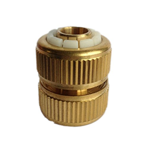 Garden lawn Water Hose pipe joiner mender repairer fitting connector 12mm ()