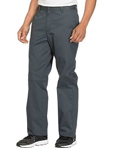 Cherokee Core Stretch Workwear Men's Zip Fly Tapered Scrub Pant XXXX-Large Pewter