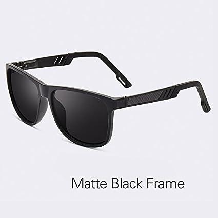 d15c8a830464b TIANLIANG04 Gafas de Sol polarizadas Vintage clásico Hombres Lente HD  Cuadrada Macho Gafas Gafas UV400