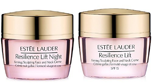 Estee Lauder Resilience Lift Firming/Sculpting Face & Neck Day + Night Creme 2015 lot