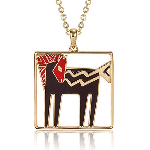Pendent Horse (Laurel Burch Classics Collection Temple Horse Pendent Necklace)