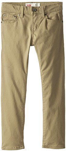Levi's Boys' 511 Slim Fit Soft Brushed Pants,Harvest Gold, 14 (Pants 511 Levi)