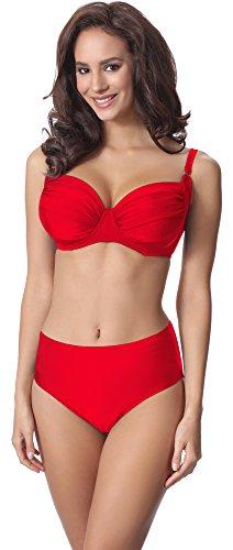 Merry Style Bikini Conjunto para mujer P61472W Rojo