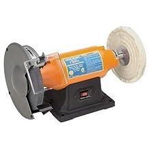 "Bench Grinder/buffer 8"" - 3/4 Hp Low Vibration 3600 RPM Motor - 5/8"" Arbor"