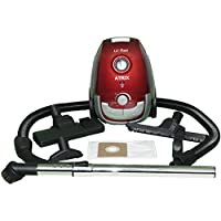 Atrix - Lil Red AHSC-1 Portable Canister Vacuum with 2 Quart HEPA Filter and 3 Variable Speed Motor
