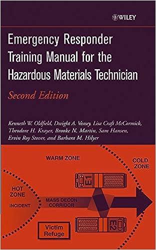 Emergency Responder Training Manual For The Hazardous Materials