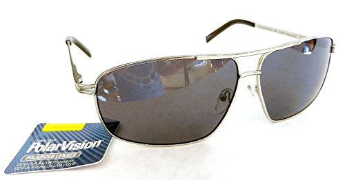 Polar Vision Unisex POLARIZED Sport Sunglasses (796) 100% UVA & UVB Protection-Shatter Resistant + FREE BONUS MICROSUEDE CLEANING CLOTH