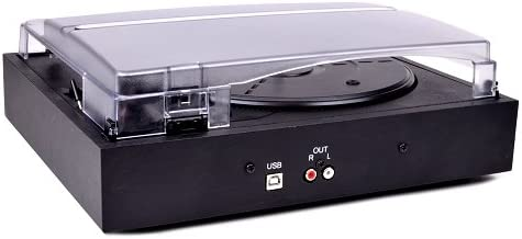 Vibe Sound VS2001USBT 2 Speed Turntable