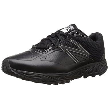 New Balance Men's MUL460K3 Umpire Baseball Shoe, Black, 9.5 D US