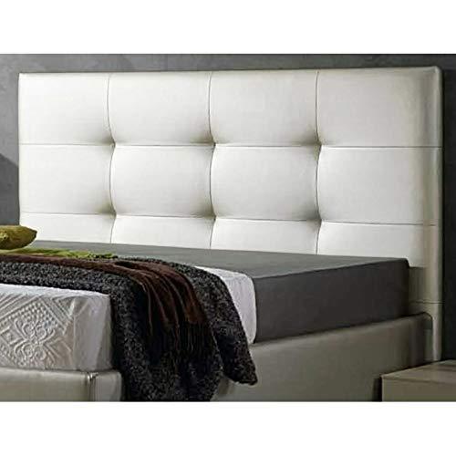 Decorquality Cabecero Texas tapizado Polipiel Primera Calidad con un diseño Moderno y un Toque de Elegancia