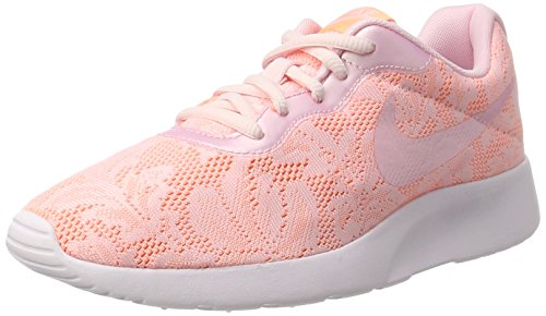 NIKE Womens Tanjun ENG Shoes Pink Pearl Pink Sunset Glow Size 6.5