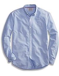 Goodthreads Men's Regular-Fit Long-Sleeve Solid Oxford Shirt