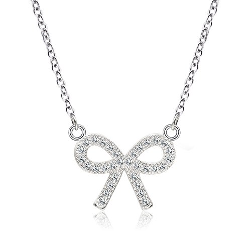Genuine Sterling Zirconia Necklace Extension