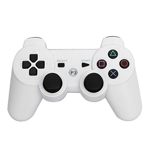 Wireless Bluetooth Controller Gamepad For Sony Playstation 3 (White Playstation 3)