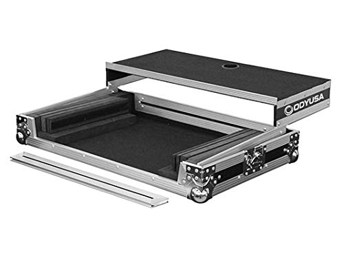 Odyssey Innovative Designs Flight Ready Series Universal Glide Style Case for Medium to Large Size DJ Controllers