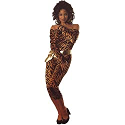 Rubie's Costume Co AD Gold & Black Catsuit Costume, Small, Small