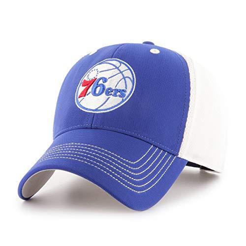 - NBA Philadelphia 76ers Sling OTS All-Star MVP Adjustable Hat, Royal, One Size, NA