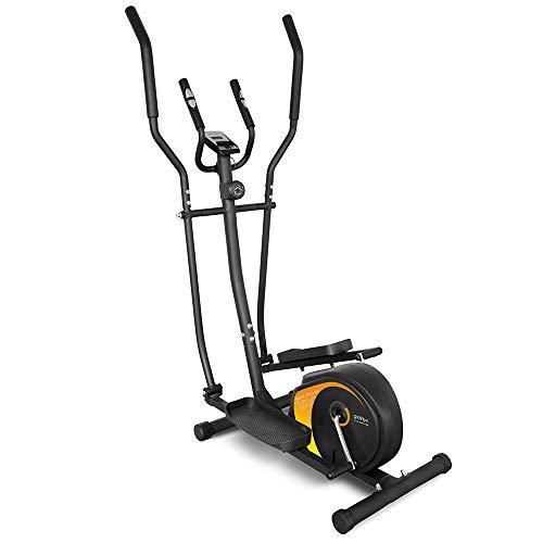 gridinlux ELIPTIC 1500 Trainer Multifunctionele elliptische fiets voor thuis. Ergonomisch dubbel stuur, hartslagmeter…
