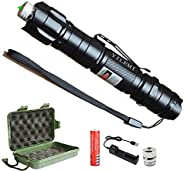 YILEMI High Power Green Light Funny Rechargeable Flashlight Toy
