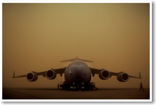 C-17 Globemaster III Aircraft - NEW Military Us Air Force Po