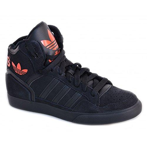 Adidas Extaball W Black Red Womens Trainers Size 36 2/3 EU