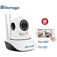 Techage 1080P Wifi IP Camera Audio Record Onvif P2P HD CCTV Surveillance Camera Baby Monitor with 16G SD Card