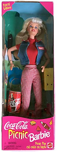 Coca-Cola Barbie Doll Coke Bottle Collector Collectible 1997 New in Box