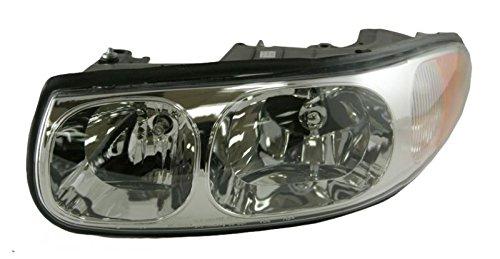 Headlight Headlamp LH Left Driver Side for 00-05 Buick LeSabre Custom ()