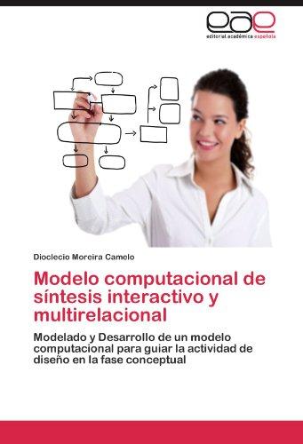 Modelo computacional de sintesis interactivo y multirelacional: Modelado y Desarrollo de un modelo computacional para guiar la actividad de diseño en la fase conceptual  [Moreira Camelo, Dioclecio] (Tapa Blanda)