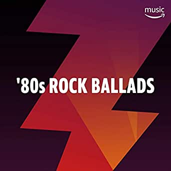 80s Rock Ballads by Aerosmith, Bonnie Tyler, Bad English, Starship