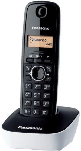 Tel/éfono fijo inal/ámbrico DECT color morado Importado de Francia Panasonic KX-TG1611FRW