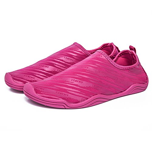 Barefoot AMAWEI Shoes Aqua Beach Red Rose Shoes Yoga Surf Aerobics Pool Quick Women Socks Men Swim Water Dry Sports qPwxqz