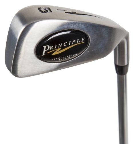 Principle Golf Men's Foam Cavity PW Iron, Right Hand, Steel, Regular by Principle Golf