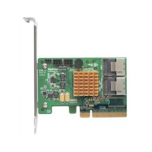 HighPoint ROCKETRAID 2720SGL 8xPort SAS/SATA 6Gb/s RAID 8xPCI Express Low Profile Controller Card