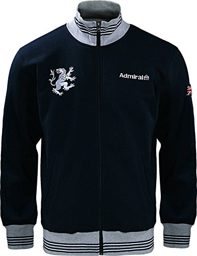 Admiral 100's Collection Lions Full Zip Soccer Track Jacket, Navy, Adult Large
