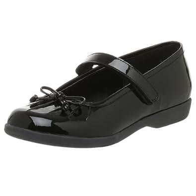 Stride Rite Infant/Toddler Geneva Shoe,Black,6 M US Toddler