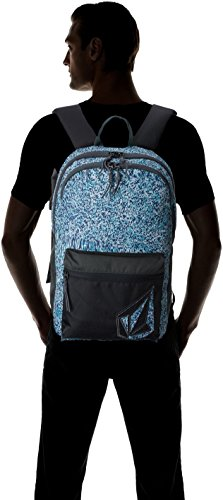 Volcom Volcom Academy Blau Rucksack - Zaini Uomo, Blu (Blue Bird), 14x30x45 cm (B x H T)