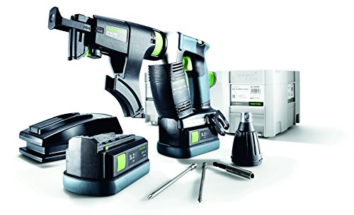 Cordless Collated Screwdriver (Festool 574888 DWC 18-4500 PLUS 18V Cordless Drywall Screwdriver)