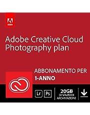Adobe Creative Cloud Photography Plan with 20GB   1 Anno   PC/Mac   Codice d'attivazione via email