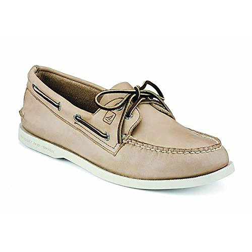 Sperry Top-Sider Men's Authentic Original Boat Shoe, Oatmeal, 12 M US